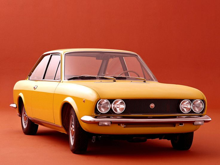 1969–72 Fiat 124 Sport Coupe