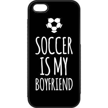 My Boyfriend Soccer Case. Funny soccer case, soccer humor. #soccer #case #iphone #sports #giftforher