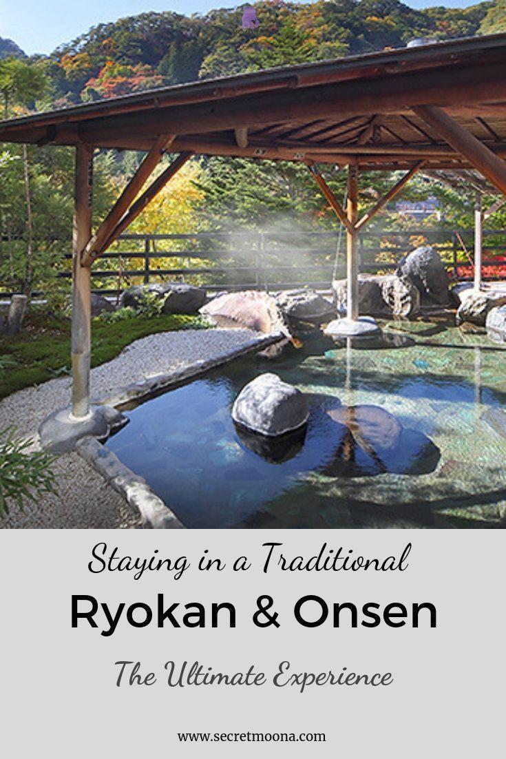 Staying at a traditional Ryokan in Kinugawa Onsen:…