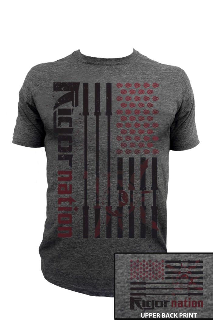 WOD Outlet | Apparel and Gear for Your WOD - Rigor Gear - Men's Rigor Nation 'T', $25.00 (http://www.wodoutlet.com/rigor-gear-mens-rigor-nation-t/)