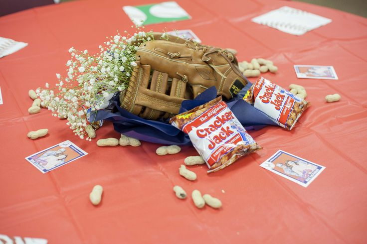 Baseball Theme Wedding Shower