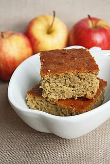Apple and Garbanzo Cake    Yup you read the title right - this is a recipe for a cake made with chickpeas!  Not garbanzo bean flour either but actual garbanzo beans.