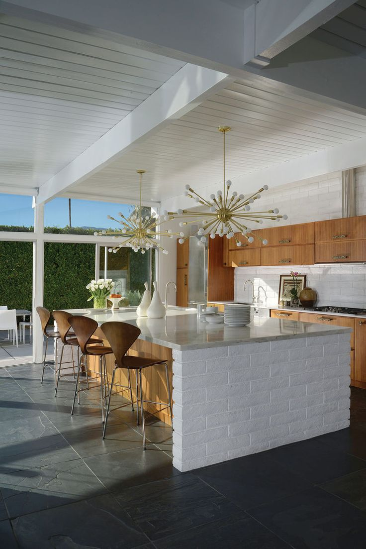 Kitchen of 1956 midcentury modern Palm Springs home. 954 best MCM images on Pinterest   Architecture  Cook and Landscaping