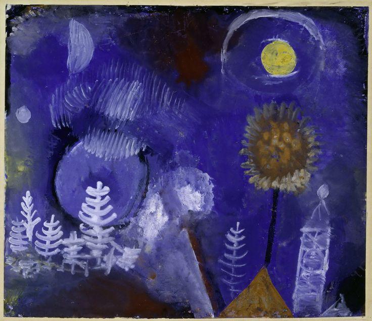 Paul Klee (Swiss:1879-1940), Landscape of the Past (Paysage du passé), 1918