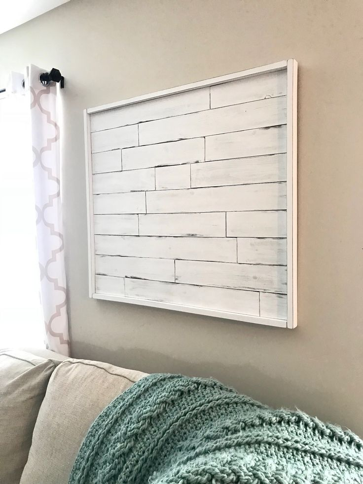 Pallet Wood Wall Bedroom