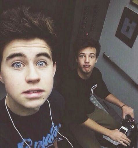 nash grier and cameron dallas