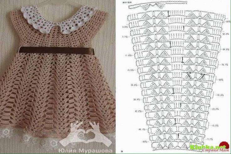 vestidos bebe niña crochet (7)