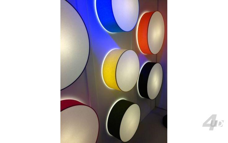 Plafond-Wandlamp Disq - Spots & Wandlampen - Verlichting