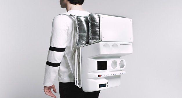 Geleceğin Teknolojisi - Uzayda Piknik İçin Sırt Çantası