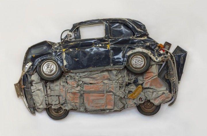 Ron Arad ° Des Fiat 500 en deux dimensions