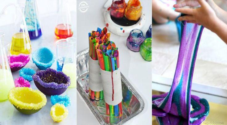 27 expériences scientifiques impressionnantes à réaliser avec vos enfants - Des idées