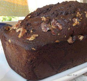 Yağsız Kara Kek (Cevizli, Sütlü ve Kakaolu) - Nurdan Çakır Tezgin #yemekmutfak