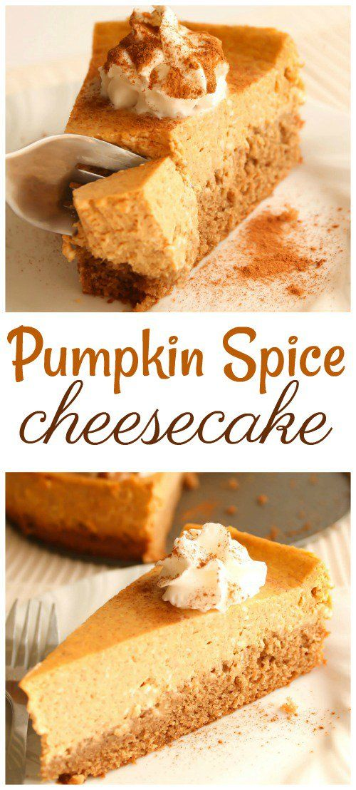 Pumpkin Spice Cheesecake Recipe – Six Sisters' Stuff
