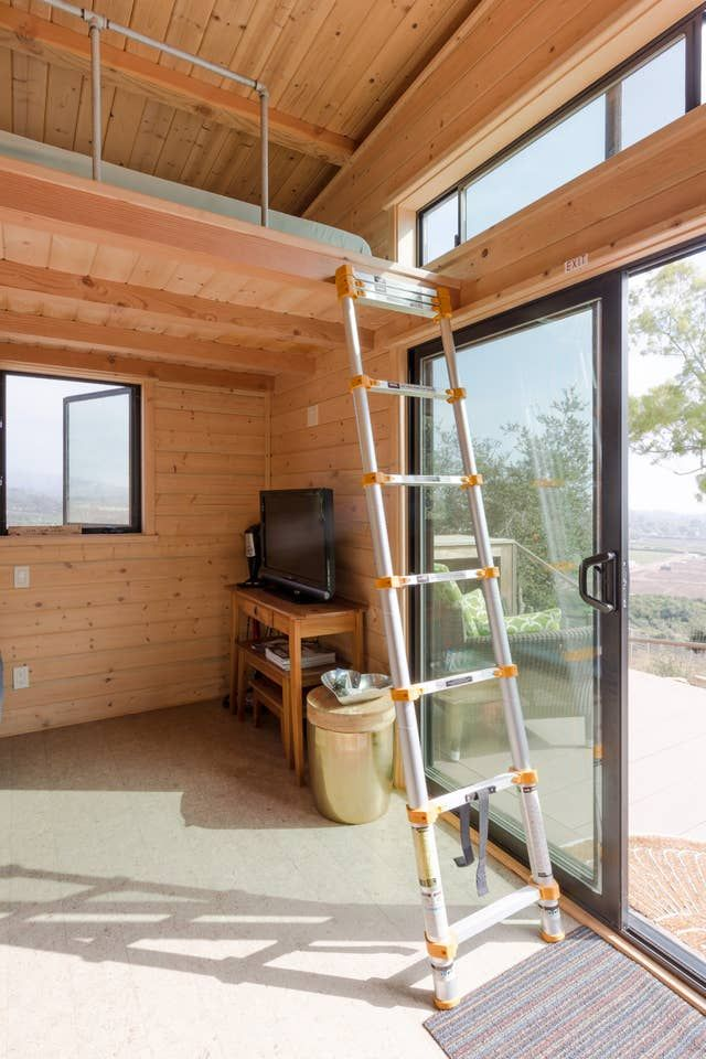 20 Tiny Houses In California You Can Rent On Airbnb In 2020 In 2020 Tiny House Stairs Tiny House Rentals Tiny House Loft