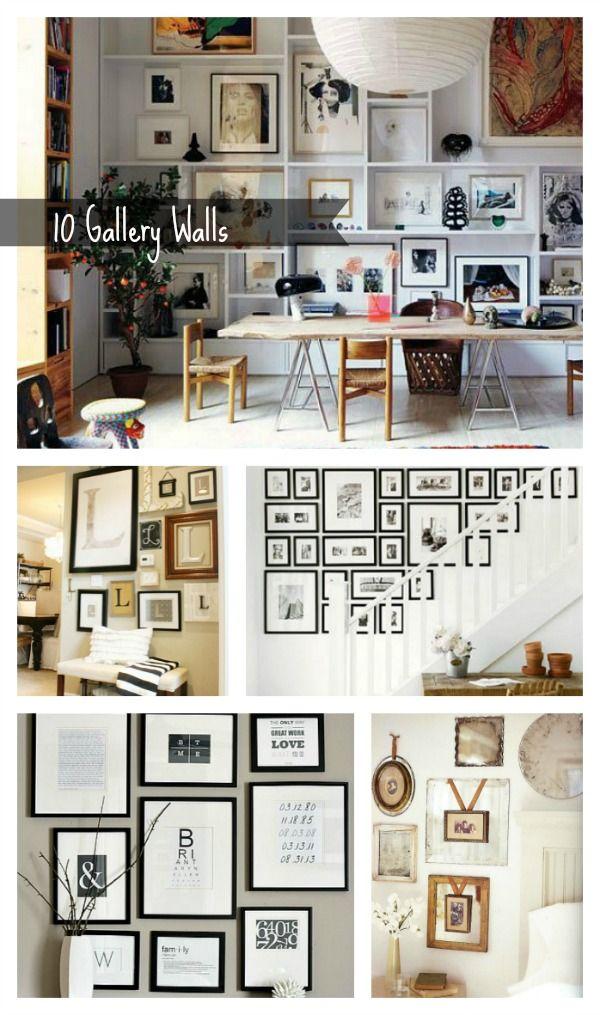10 Gallery Wall Ideas 53 best Floored