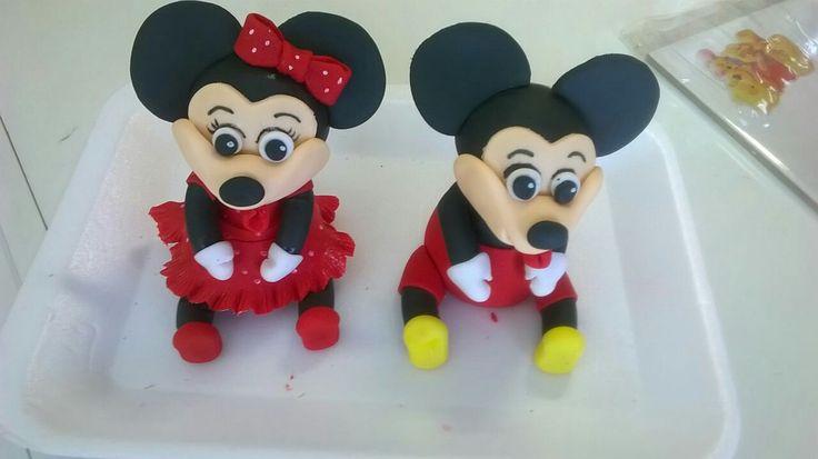 minnie en mickey muis