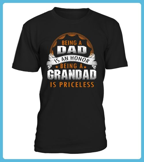BEING A DAD IS AN HONOR BEING A GRANDAD IS PRINCELESS TSHIRT (*Partner Link)