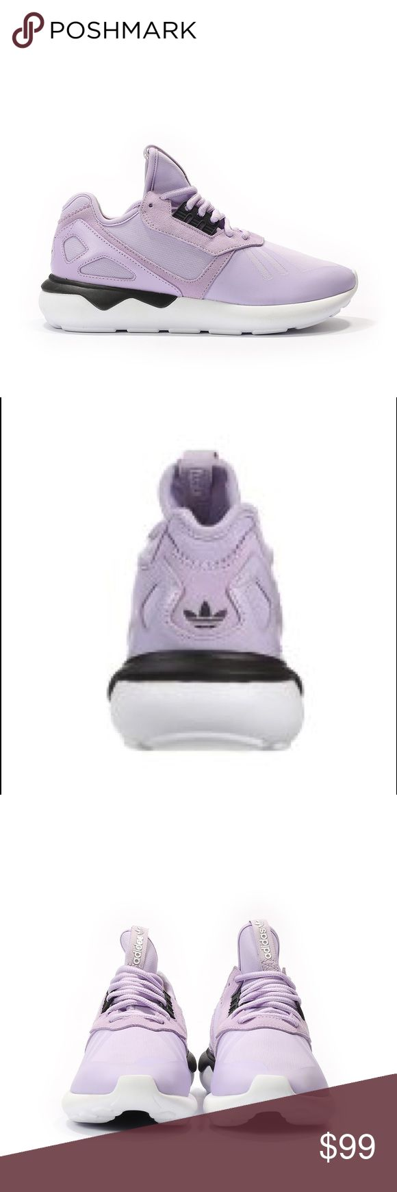 Brand New Adidas Tubular Runner Sneakers Brand new Lilac Adidas tubular runner Sneakers, comes with the box! Size 7.5! Very comfy and cute pair of running sneakers !!  adidas Shoes Sneakers