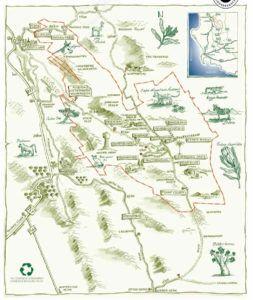 Cederberg mountains map