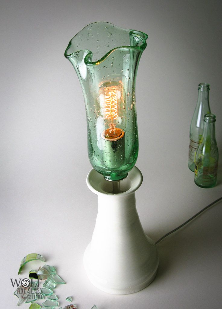 34 best recycled bottles images on pinterest glass for Recycled glass art
