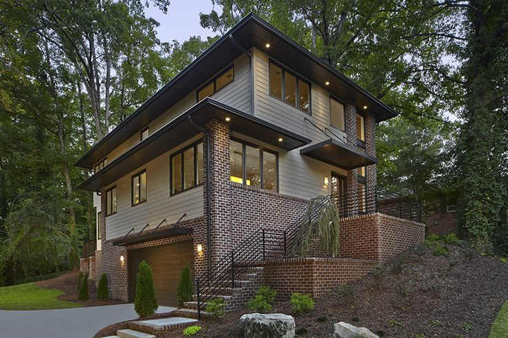 This New Industrial Modern Style Home In North Atlanta
