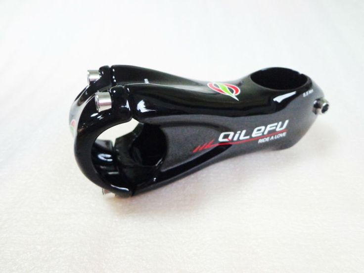 New QILEFU Mountain bike UD 3K full carbon bicycle stem 6/17 angle Road carbon stem 31.8*80/90/100/110/120mm MTB parts Free ship