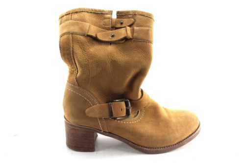 Women's MATISSE Tan Leather Ankle Boots Size 8.5