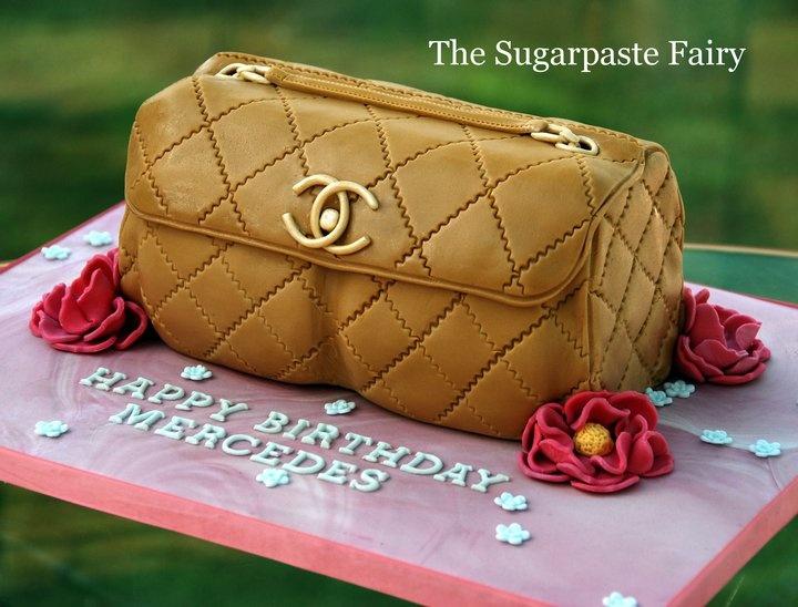cake - Chanel handbag @Matt Nickles Valk Chuah Sugarpaste Fairy