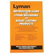 Lyman Reloading and Cast Bullet User Guide