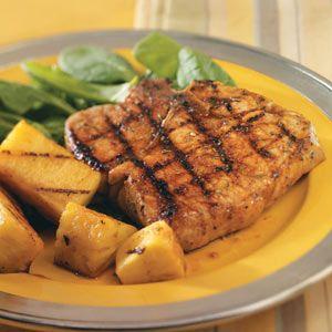 Teriyaki Pineapple Pork Chops - quick dinner option!