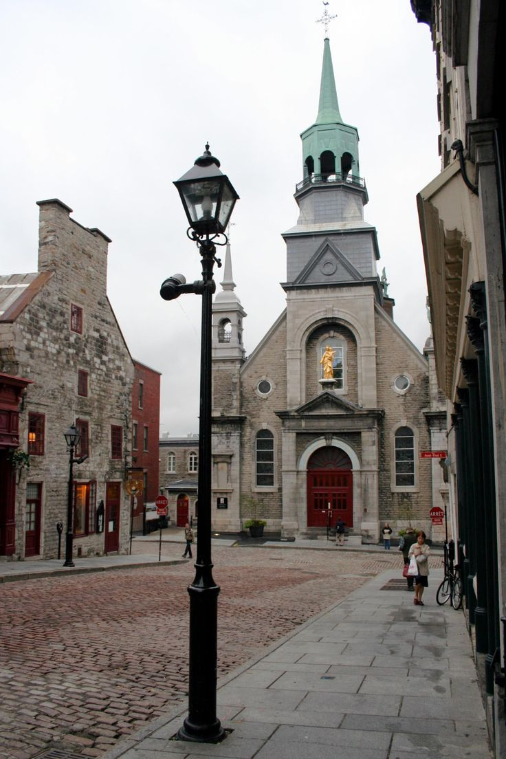 Old Montreal is beautiful. Been inside that church...