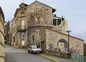 """A-Fresco. """"Porte principale d'Aurec sur Loire"""""""