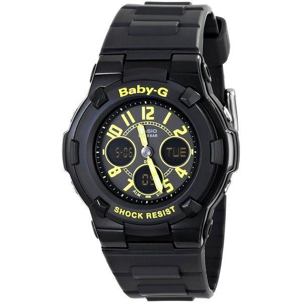 Casio Baby-G Analog-Digital Display Quartz Black Watch