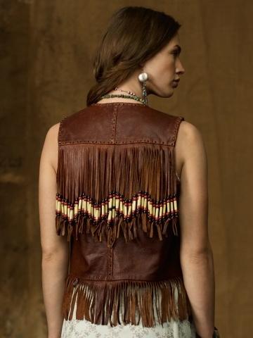 Hairpipe Leather Vest - Denim & Supply  Jackets & Outerwear - RalphLauren.com