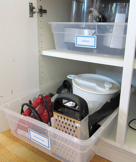 Declutter Your Cabinets | #4 is so smart!