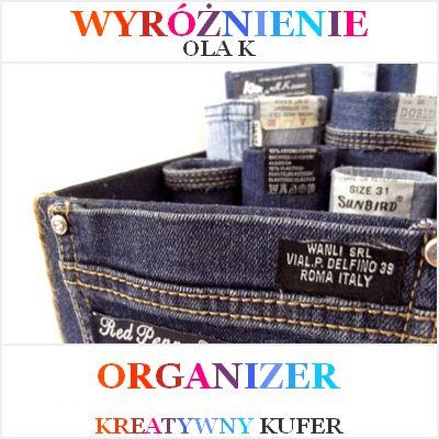 Wyniki Wyzwania Tematycznego - Organizer | Kreatywny Kufer