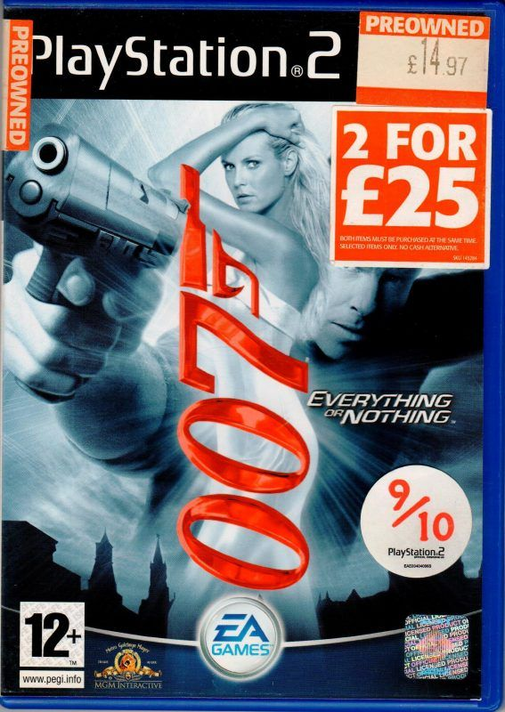 007 Playstation Games Games Video Games