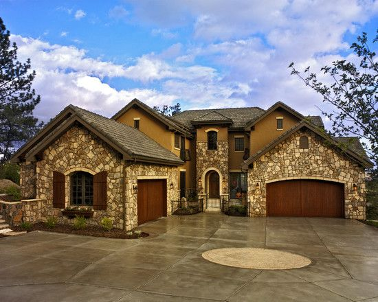Best 25 french country exterior ideas on pinterest for Colorado style homes