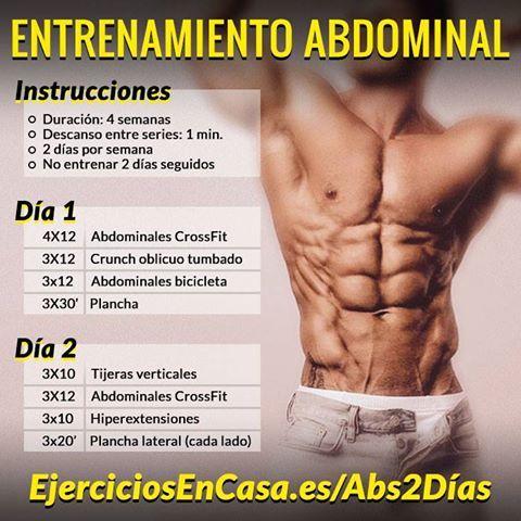 #Rutina para definir abdominales