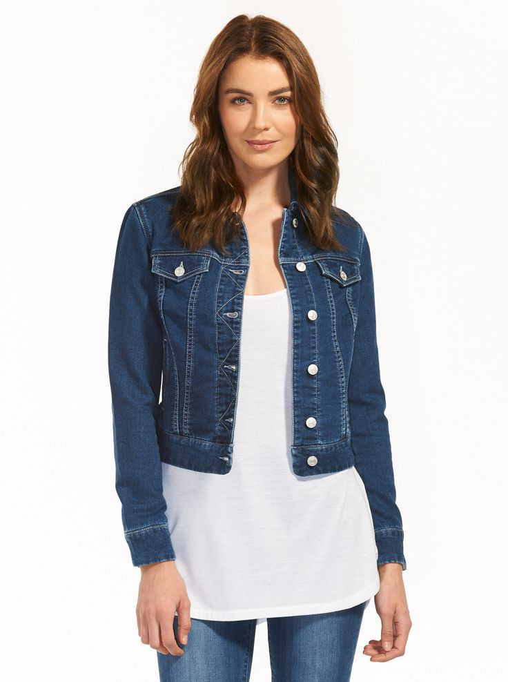 Image for Retro Trucker Denim Jacket from Just Jeans