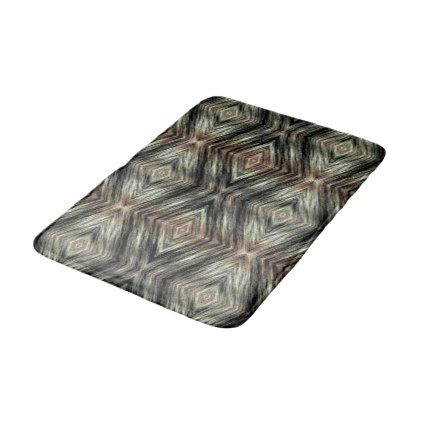 Trendy Mosaic Native American Indian Tribe Pattern Bathroom Mat - fun gifts funny diy customize personal