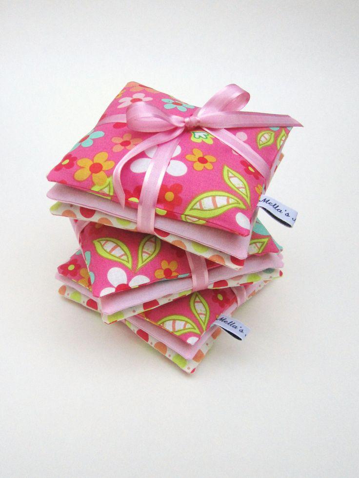 Pink Daisy Lavender Bags - £10  www.facebook.com/mellasmakings
