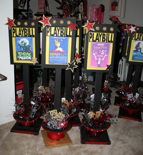 22 Best Images About Broadway Party Theme On Pinterest: Best 25+ Broadway Theme Ideas On Pinterest