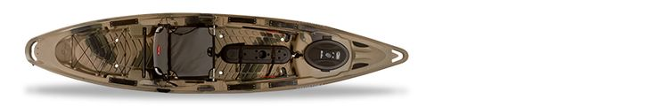 Predator 13 Family Detail Camo Top - We're bringing in the #fishing #kayaks at New River Sports this Spring! This is the Predator from #OldTown.