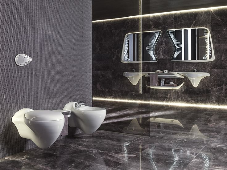 Vitae, la colección de Zaha Hadid y Noken. Así se inspira en el movimiento del agua #baños #interiorismo @NokenDesign