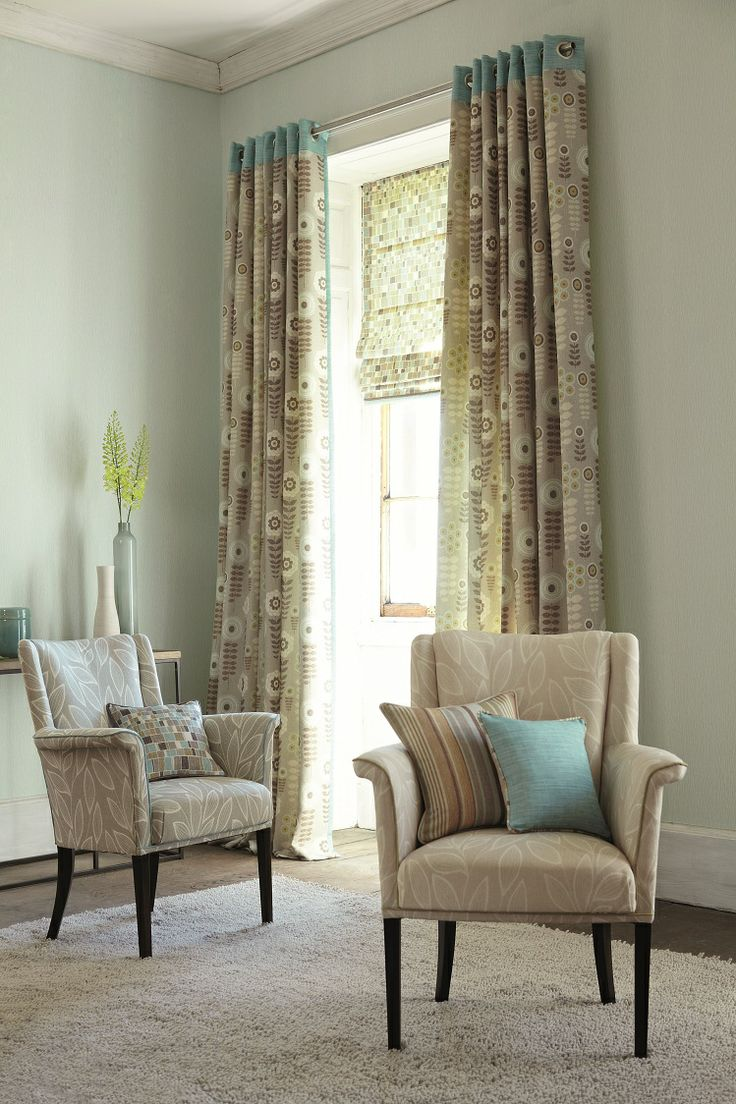 Fresh and #contemporary #designs with soft, light #colours fuse with the #beautiful Sevilla #prints creating an imaginative #fabric collection, developed specially for #commercial spaces. #Fabrics from Sevilla, Harlequin, #Goodrich