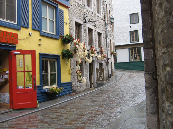 Cobblestone Streets in Old Quebec City  Been There, Done That...  P…