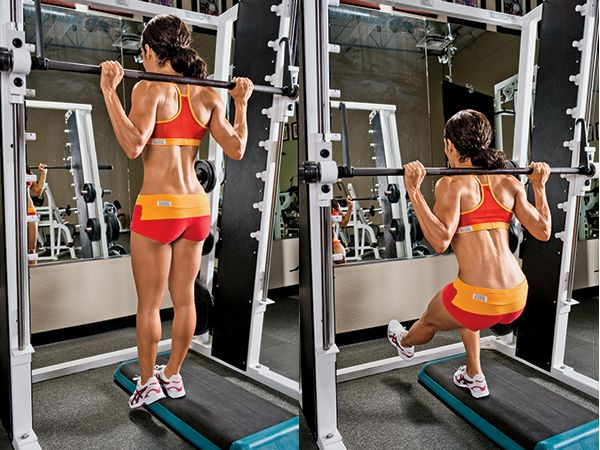 how to use smith machine straight leg dead lift
