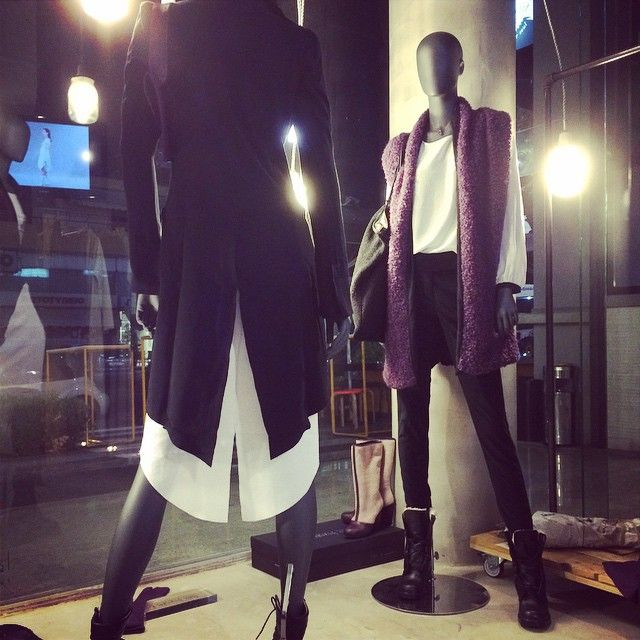 fashion window display