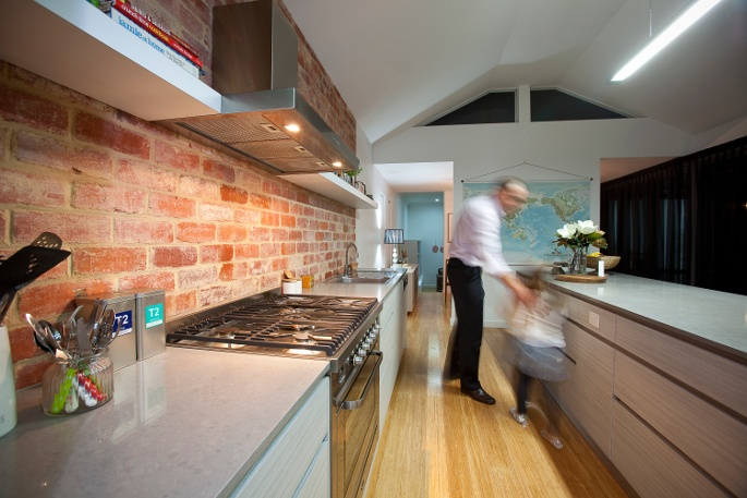 Another view of the kitchen. Very spacious with a 3.7m long island bench!